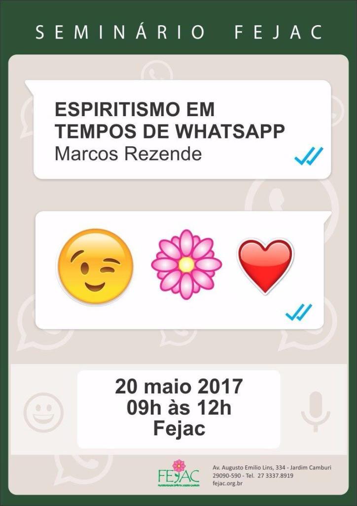 Espiritismo em tempos de WhatsApp